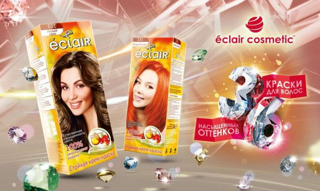 Стойкая крем-краска для волос  Éclair