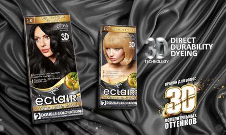 Стойкая крем-краска для волос Éclair 3D