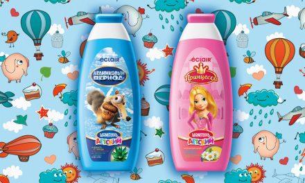 Éclair shampoo for kids