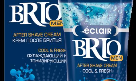 Brio after shave cream